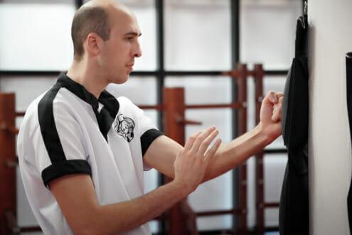 Wing Chun Stootzak Training in Papendrecht