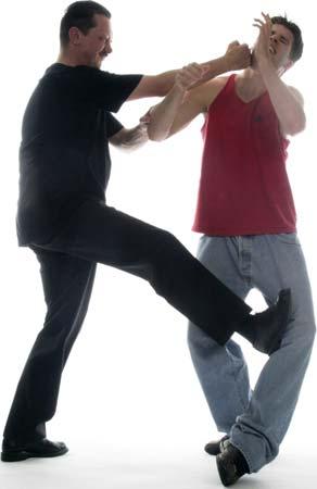 Wing Chun trappen komen altijd onverwachts.